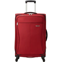 """Samsonite Lamont 25"""" Expandable Checked Spinner Luggage Softside Checked NEW"""