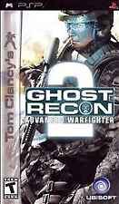 Tom Clancy's Ghost Recon: Advanced Warfighter 2 (Sony PSP, 2007)  Disk Only Fast