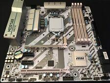 Mortar Arctic H270M LGA1151 MSI carte mère pour Intel 6th Gen i3 i5 i7 Gaming