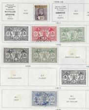 6 New Hebrides Stamps from Quality Old Antique Album 1908-1925