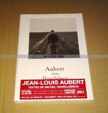JEAN LOUIS AUBERT CHANTE HOUELLEBECQ - CD DIGIPACK DELUXE EDITION - NEUF