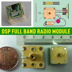 2020 DSP Full Band Radio Module FM Stereo/TV Sound/MW/SW Reception Module AM CE