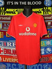 """4.5/5 Manchester United adults XXL 49"""" 2000 football shirt jersey trikot soccer"""