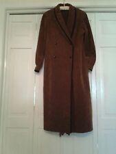 Vintage Abe Schrader Ultra Suede Coat Dress
