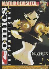 Comics International #167 Matrix Comics (2004) UK Magazine