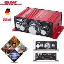 Mini HiFi Verstärker Car Amplifier Stereo Audio Endstufe für Auto Motorrad Boot