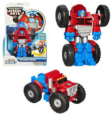 Transformers Rescue Bots ~ MONSTER TRUCK OPTIMUS PRIME Action Figure ~ Hasbro