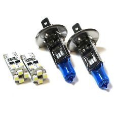 Ford C-Max MK2 H1 501 55w ICE Blue Xenon HID Low/Canbus LED Side Light Bulbs Set