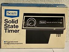 Vintage Sears Solid-State Slide Projector Timer, New In Box!