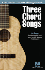 """THREE CHORD SONGS"" UKULELE CHORD SONGBOOK-BRAND NEW ON SALE MUSIC BOOK 60 SONGS"