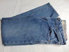 Volcom Women's Medium Distressed Wash Straight Leg Low Rise Jeans Size 28