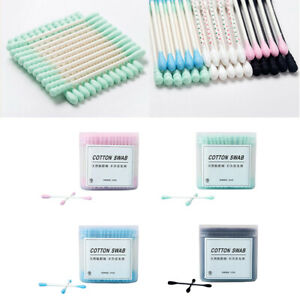 200PCS Cotton Swab Box Soft Cotton Buds Cleaning of Ears Health Beauty