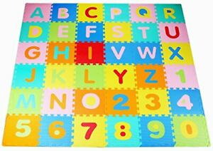 Balance From Kid's Puzzle Exercise Play Mat with EVA Foam Interlocking Tiles ...