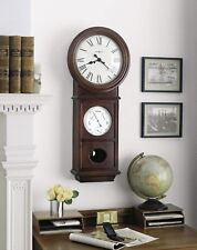 Howard Miller Lawyer II Chiming Key -Wound Wall Clock 620-249 FREE SHIPPING