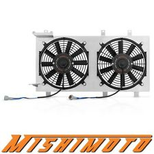 Mishimoto Aluminum Radiator Fan Shroud Kit - Plug-N-Play (01-07 Impreza WRX/STI)