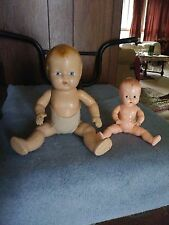 Antique Crazed ALL Composition BABY DOLL & Ideal boopsie doll