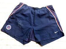 Short PSG Paris Saint Germain sg signed JAY JAY OKOCHA foot ultras signé