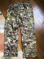 New Size XL Under Armour Gore-Tex Forest Camo Hunting Pants 1259193-943 MSRP$225