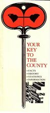 Greenville Your Key to the County South Carolina SC Vintage Booklet