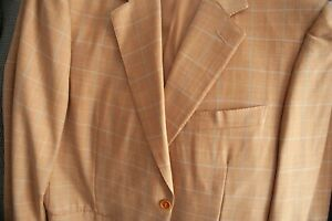 Bespoke Canali jacket Super 120's Cloth New With defect size 42inch Chest