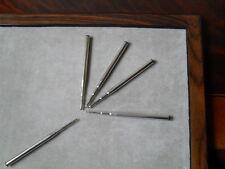 5 x Mont blanc Compatible Ballpoint Refills - BLACK Medium point