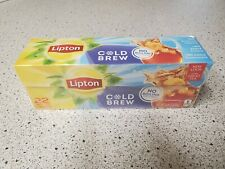 Lipton Cold Brew Decaffeinated Iced Tea Bags 22 Ct Family Size FREE SHIPPING