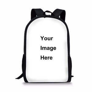 FORUDESIGNS Custom Backpack Personalized Design 17 inches School Bag Rucksack