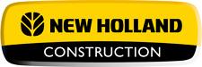 NEW HOLLAND E50B COMPACT CRAWLER EXCAVATOR PARTS CATALOG