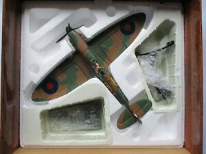 Corgi 1:32 scale Spitfire Mk.1 74 Sqn RAF Flt Lt.'Sailor' Malan & 74 Sqn sticker