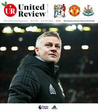 Man Utd Manchester United v Newcastle United Programme Review 2019/20 PL