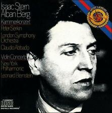 Berg: Kammerkonzert 1989 by Alban Berg; Claudio Abbado; Leonard Bernstein; Londo