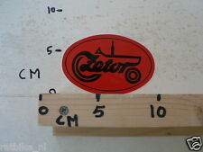 STICKER,DECAL ZETOR TRACTOR RED NOT 100 % OK