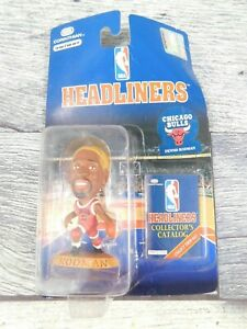 Dennis Rodman Corinthian Headliners Chicago Bulls 1996 NBA Yellow Hair