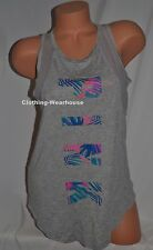 9e1e9ee3ee Victoria s Secret Pink Soft Mesh Tank Top Shirt Workout Tropical Neon Palm S
