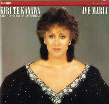 """AVE MARIA Kiri Te Kanawa 12"""" LP Gatefold 1984 NETHERLANDS Philips @412 629-1"""