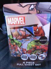 Marvel Full Sheet Set New