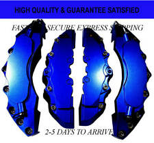 Dark Blue Extra Thick ABS Brake Caliper Covers Car Disc Kit Front Rear 4PCS L+M