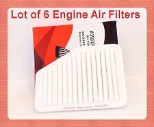Lot 6 Engine Air Filters 17801-50060 CA9379  Fits:LEXUS GS300 GS430 GS450h SC430