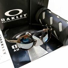 Oakley Mad Man X Metal Sunglasses OO6019-02 Pewter/ Black Iridium Polarized