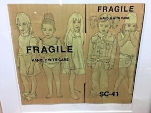 """Picture of 5 young Girls Art work 1st edition Limited Print """"Handle with Care"""""""