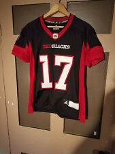 Ottawa Redblacks CFL Football Jersey Autographed #17 Doug Collins Youth Medium