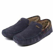 Barbour Men's Monty Slippers in Navy - MSL00001