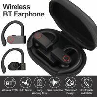 Ear Hook TWS Wireless Headset Bluetooth 5.0 Earbuds Headphones Noise Cancelling