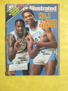 SPORTS ILLUSTRATED NOV. 28, 1983 COLLEGE BASKETBALL 1'ST MICHAEL JORDAN COVER