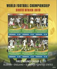 Grenada 2010 - Sports World Cup Soccer Championships South Africa - Sc 3759/2MNH