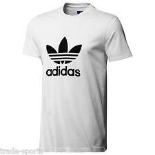 Adidas Originals Adi Trifoglio Maglietta Uomo tempo libero Culto T-shirt Bianco XL