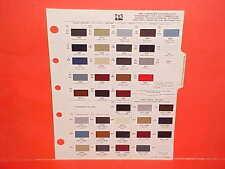 1984 CHRYSLER EXECUTIVE LIMO LEBARON DODGE 600 CONVERTIBLE PLYMOUTH PAINT CHIPS