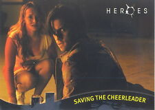 HEROES TOPPS PROMO CARD P5 NON-SPORT UPDATE SAVING THE CHEERLEADER