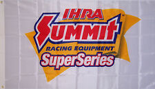 NEW 3ftx5ft PREMIUM QUALITY IHRA SUPER SERIES SUMMIT RACING BANNER FLAG