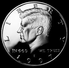 1997 S  Kennedy Mint Silver Proof Half Dollar from Original U.S. Mint Proof Set